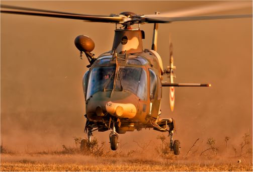 Take off in the dust - Pieter Cronje